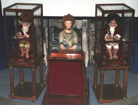 tres automatas